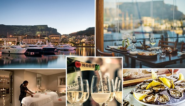 The V&A Waterfront: Moët & Chandon, Fresh Oysters, Lindt Luxury, Lavish Couples Spa Treatments and an Exclusive Dinner for 2! The Mother City's most exclusive couples experience awaits you & someone special…