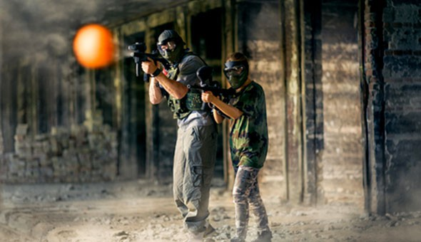 3 Hours of Paintball Fun for up to 10 People at S.W.A.T Paintball!
