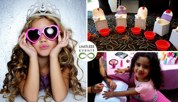 Treat your Little Princess and her Friends to a Pamper Party that will make their dreams come true! Indulge their whimsical fancies with Mani's & Pedi's, Nail Art, Chocolate Face Masks, a Fashion Show, Make-up Party Gift Bags & More!