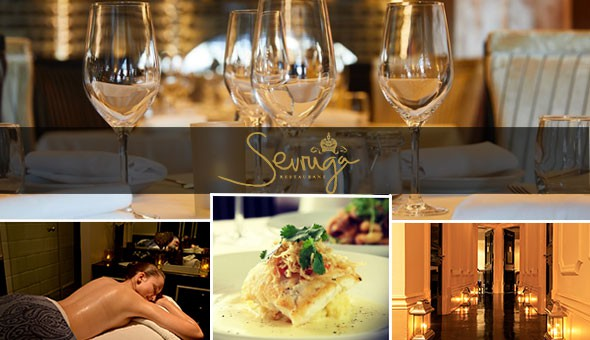 Sevruga Restaurant and The 5-Star Cape Royale Luxury Hotel & Spa invites you to experience the ultimate in decadent luxury: A Lavish Couples Spa Package & a 3-Course Gourmet Dining Experience for 2!