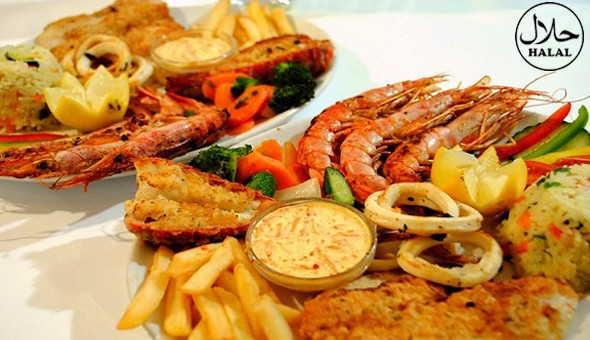 Seafood Platters or Mixed Grill Platters for up to 4 People at The Atlantic Express Train Restaurant, Sea Point!