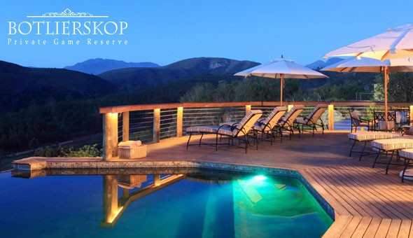 Luxury Game Reserve Getaway: Escape to Botlierskop Private Game Reserve for a Weekend or Weekday Getaway for 2 People, including Breakfast, Spa Vouchers & Activity Vouchers!