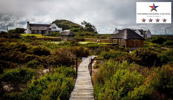 Luxury West Coast Getaway: Escape to the 4-Star Draaihoek Lodge for a 2 Night Stay for 2 People, including Breakfast at only R1599!