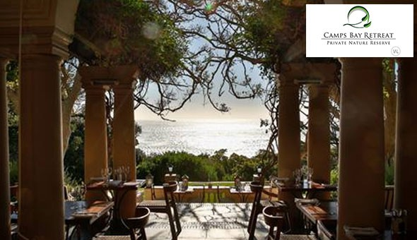 Camps Bay Retreat Luxury Boutique Hotel: A 1 Night Getaway for 2 People in a Premier Room, including Breakfast and a Spa or Dining Voucher!