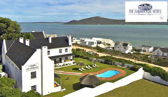 A luxury 2 Night Getaway for 2 People at The Farmhouse Hotel, including Breakfast and a R450 Lunch or Dinner Voucher.
