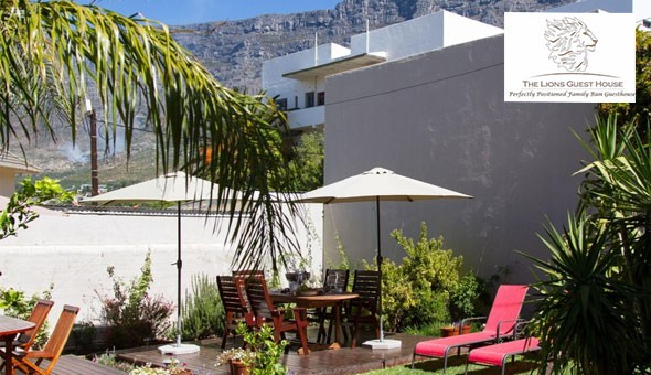 A Romantic Couples Overnight Getaway, including Breakfast at The Lions Guest House, Gardens!