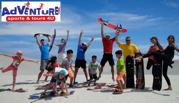 A Sandboarding Adventure for up to 6 People, brought to by Adventure Sports & Tours 4U!