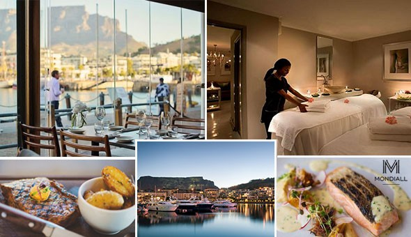 Couples Luxury at The V&A Waterfront: An Exclusive 2-Course Dining Experience & a Luxurious Couples Spa Package!