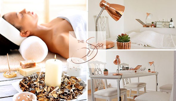 Luxury Full Body Massages, Deluxe Mani's or Pedi's, Body Scrubs & More at The Spa, located on Belvedere Road in Claremont!