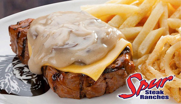 Rodeo Spur (Halaal), Claremont: Beef Ribs, Buffalo Wings, Cheddamelt Steaks, Pecan Nut Sundaes, Classic Waffles & More! Starters, Mains & Desserts for 2 People at only R299!
