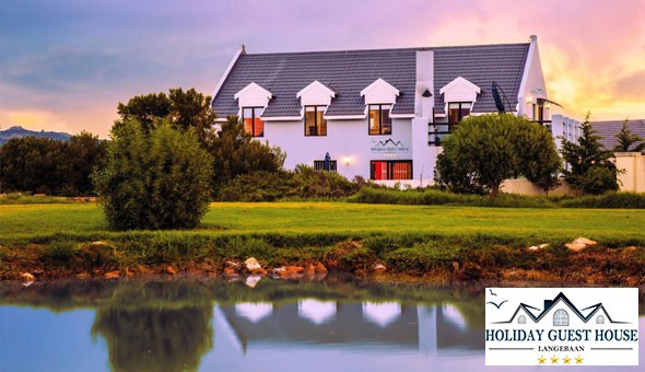 Escape to the 4-star Holiday Guest House in Langebaan for a 2 Night Weekday Getaway for 2 People at only R999!