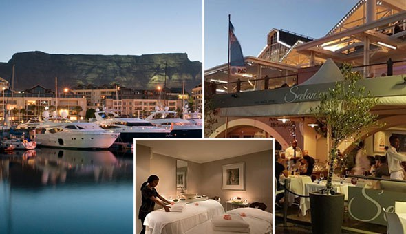 V&A Waterfront Luxury: A R500 V&A Waterfront Shopping Gift Card, a Luxury Couples Spa Package & a Gourmet Dining Experience for 2!