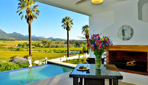 Escape to the luxurious 4-star Val du Charron Wine & Olive Estate for a Luxury Getaway for 2 People, including Breakfast.