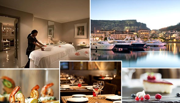 An Exclusive V&A Waterfront Couples Experience: A Luxury Couples Spa Package & a 3-Couse Dining Experience for 2!