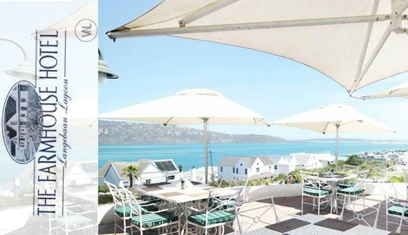 Langebaan Lagoon: Escape to The Farmhouse Hotel for a luxury 1 Night Stay for 2 People at only R990!