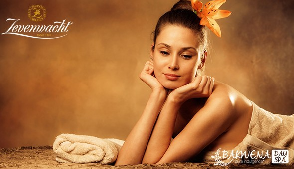 The Exclusive Full Day Spa Package at Bakwena Day Spa, Zevenwacht Wine Estate! Includes: Breakfast, 6 Luxury Spa Treatments, Buffet Lunch, Afternoon Snack Platter, Beverages & More!