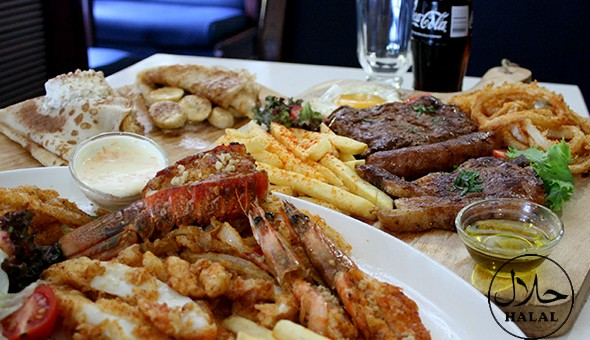 Mixed Grill or Seafood Platters and Caramel & Banana Pancakes for up to 4 People at The Atlantic Express Train Restaurant, Sea Point!