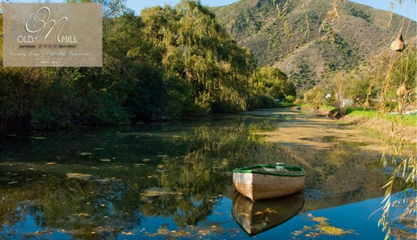 The 4-Star Old Mill Lodge & Restaurant: A 1 Night Stay for 2 People at only R699!