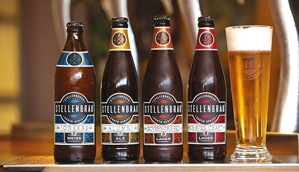 Craft Beer Tasting, Brewery Tour & Draughts for up to 4 People at Stellenbrau Brewery!