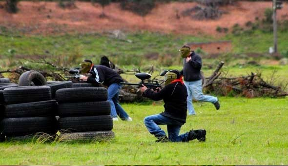3 Hours of Extreme Paintball Fun for up to 10 People at S.W.A.T Paintball!