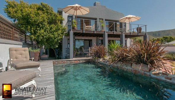 Hermanus 2 Night Getaway: Escape to Whale Away Guest House for a 2 Night Getaway for 2 People in an Ocean View or Garden View Room, including Breakfast!