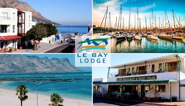 Le Bay Lodge: A 2 Night Weekend Getaway for 2 People, including Breakfast at only R1259!