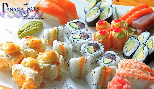 The Sushi Experience for 2 People at the legendary Panama Jacks – Now located at Cape Town Cruise Terminal!