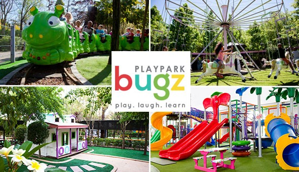 Bugz Playpark: VIP Entrance Tickets for 2 Kids!