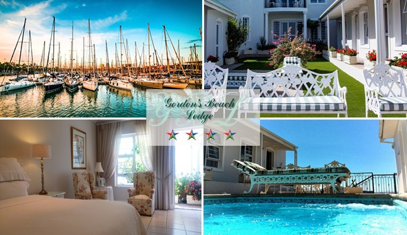 Romantic Getaway for 2 in a Luxury Room, including Breakfast at the 4-Star Gordon's Beach Lodge!
