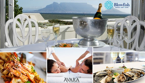 Experience the Ultimate in Couples Decadence: Spoil her with Luxurious Spa Treatments with either Fresh Oysters and Brut Sparkling Wine OR a Seafood Platter & Lindt Luxury!