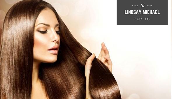 Wash, Cut & Blow, Half Head of Highlights, Full Head of Colour, Reconstruction Hair Treatment & More at Lindsay Michael Hair Co, Parow!