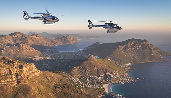 Cape Town Helicopters: Explore The Mother City with a Helicopter Flight at only R799!