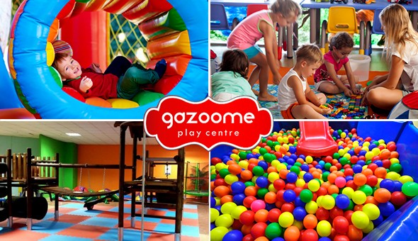 "Playtime at Gazoome ""Jungle-Themed"" Play Centre!"