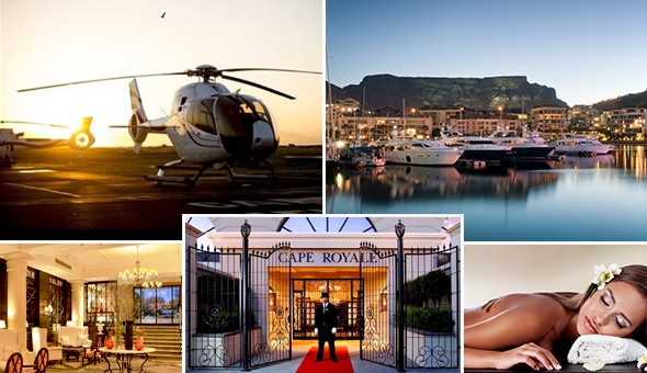 The Mother City Dream Date: Spoil her with a Luxury Couples Spa Experience & Explore The Mother City with a Helicopter Flight for 2 People!