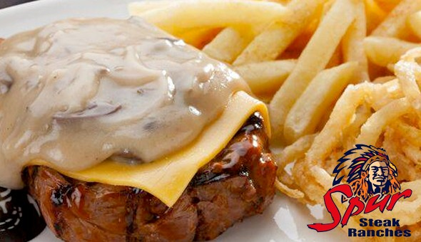 Golden River Spur, Fish Hoek: Starters, Mains & Desserts for 2 People at only R299! Dine on the likes of; Spur's Famous Pork Ribs, Cheddamelt Steak, Buffalo Wings, Cheesy Garlic Prawn Hake, Classic Waffle, Cheesecake & More!