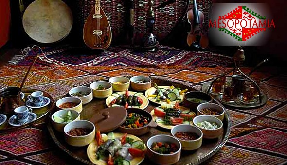A 10 Dish Kurdish Taste Experience for up to 4 People at Mesopotamia Kurdish Restaurant, Long Street!