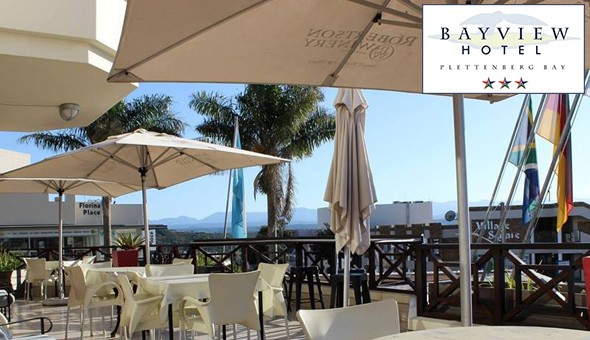A 2 Night Getaway for 2 People at The Bayview Hotel, Plettenberg Bay!