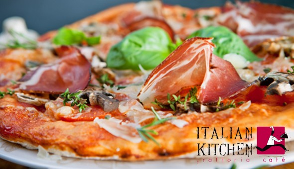 An Exclusive 2-Course Italian Dining Experience for 2 People at Italian Kitchen!