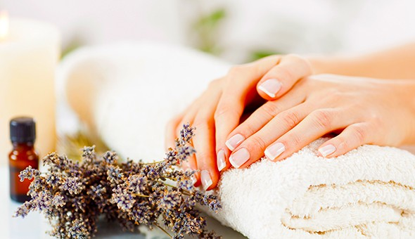 A Luxury Manicure and a Luxury Pedicure at The Purple Orchid Spa, Century City!