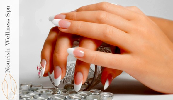 A Deluxe Manicure or a Deluxe Pedicure at Nourish Wellness, Arauna Centre, Brackenfell!