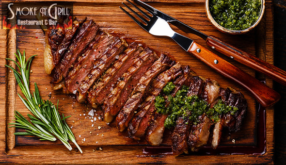 300g Steak Picanha or BBQ Pork Ribs and Decadent Chocolate Desserts for 2 People at Smoke n' Grill, Claremont!