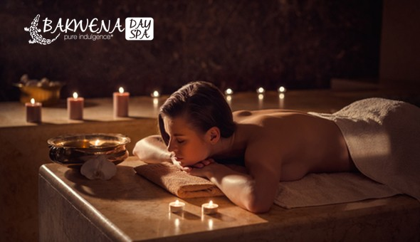 Luxurious Couples Evening Under The Stars at Bakwena Day Spa: Welcome Drinks, Couples Spa Treatments, an Exclusive Couples Dining Experience, Snack Board & Complimentary Beverages!