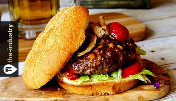 Gourmet Burgers with Toppings and Wedges for 2 People at the-industry, Sea Point!