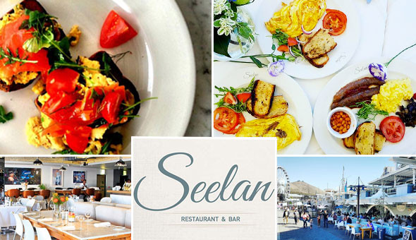 V&A Waterfront: Gourmet Breakfast and Beverages for 2 People at Seelan Bistro!