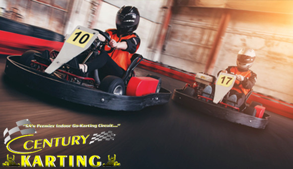 Go Karting Fun for 1 Person at Century Karting, Canal Walk!