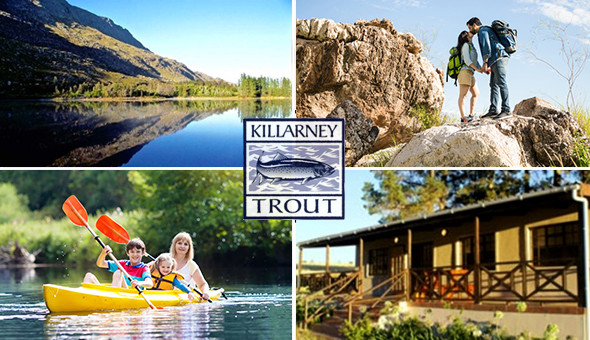 Country Cottages at Killarney Trout Farm: A 2 Night Stay for 2 People in a Self-Catering Cottage at only R799!