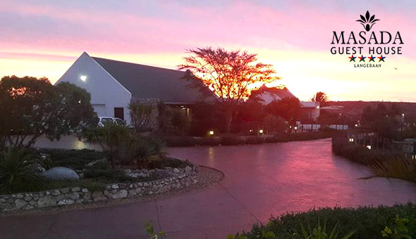A 2 Night Stay for 2 People at the 4-Star Masada Guest House, Langebaan!
