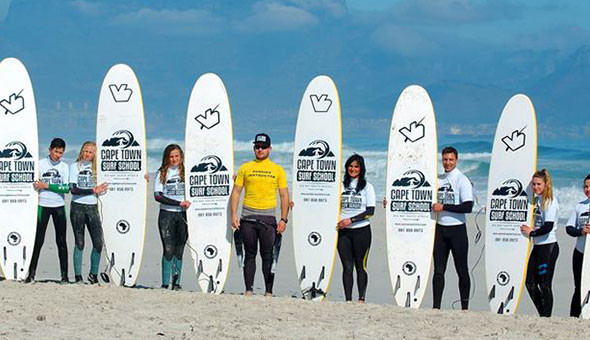 Surf Lessons at Cape Town Surf School, Blouberg! (All Ages Welcome)