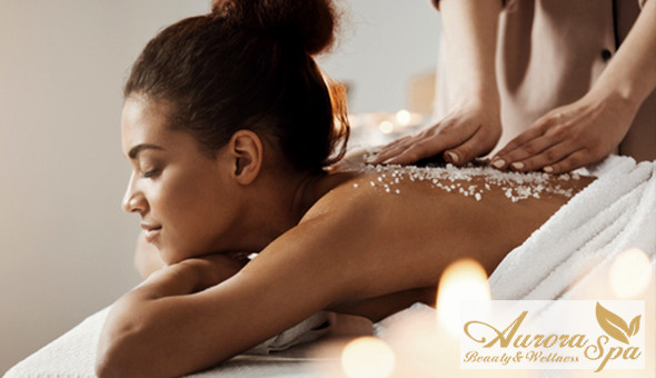 A Luxury Spa Package at Aurora Beauty & Wellness Spa, Century City! Includes: A Luxury Full Body Swedish Massage, Signature Aurora Facial, Invigorating Back Exfoliation, Spa Treats & More!