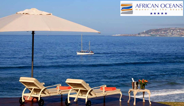 A luxury 2 Night Stay for 2 People, including Breakfast at The 5-Star African Oceans Manor On The Beach!